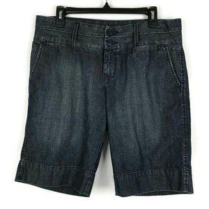 Lucky Brand Denim Bermuda Shorts Womens Size 14/32